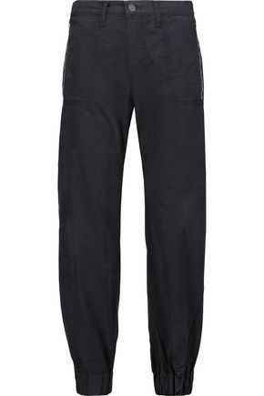 J BRAND Tavi cotton-twill tapered pants