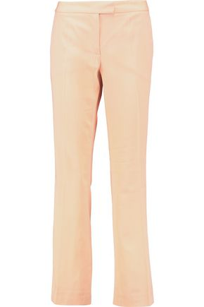 BOUTIQUE MOSCHINO Wool-twill bootcut pants