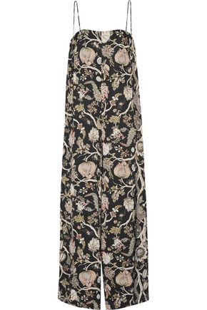 ZIMMERMANN Printed satin jumpsuit