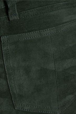 RAG & BONE Suede skinny pants
