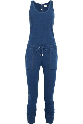 RAG & BONE/JEAN Cotton-chambray jumpsuit
