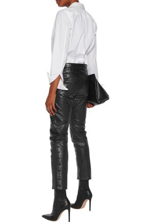 MM6 by MAISON MARGIELA Leather pants