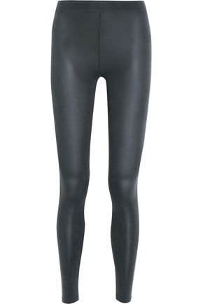 MM6 by MAISON MARGIELA Jersey leggings ...