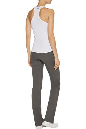 YUMMIE by HEATHER THOMSON® Katrina wrap-effect stretch-cotton pants