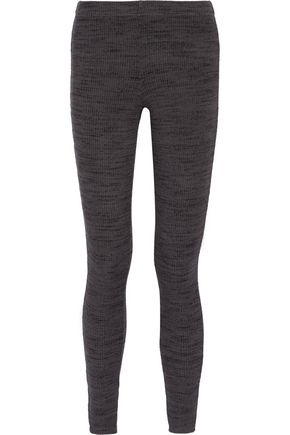 SPLENDID Ribbed stretch-jersey leggings