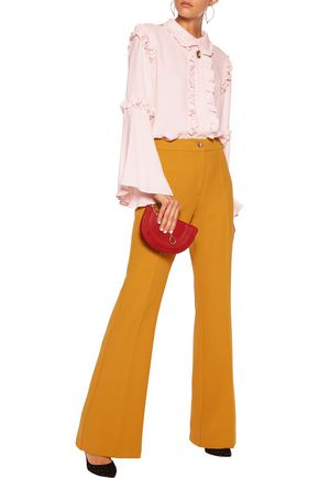 VIVETTA Twill wide-leg pants