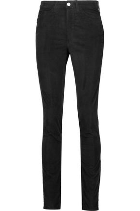 M.I.H JEANS Cotton-blend velvet skinny pants