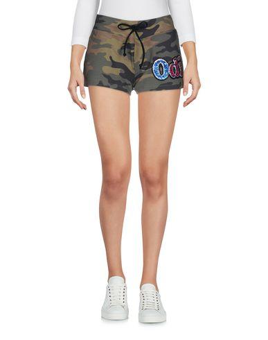 Фото - Повседневные шорты от ODI ET AMO цвет зеленый-милитари