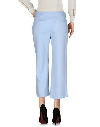 Фото 2 - Повседневные брюки небесно-голубого цвета