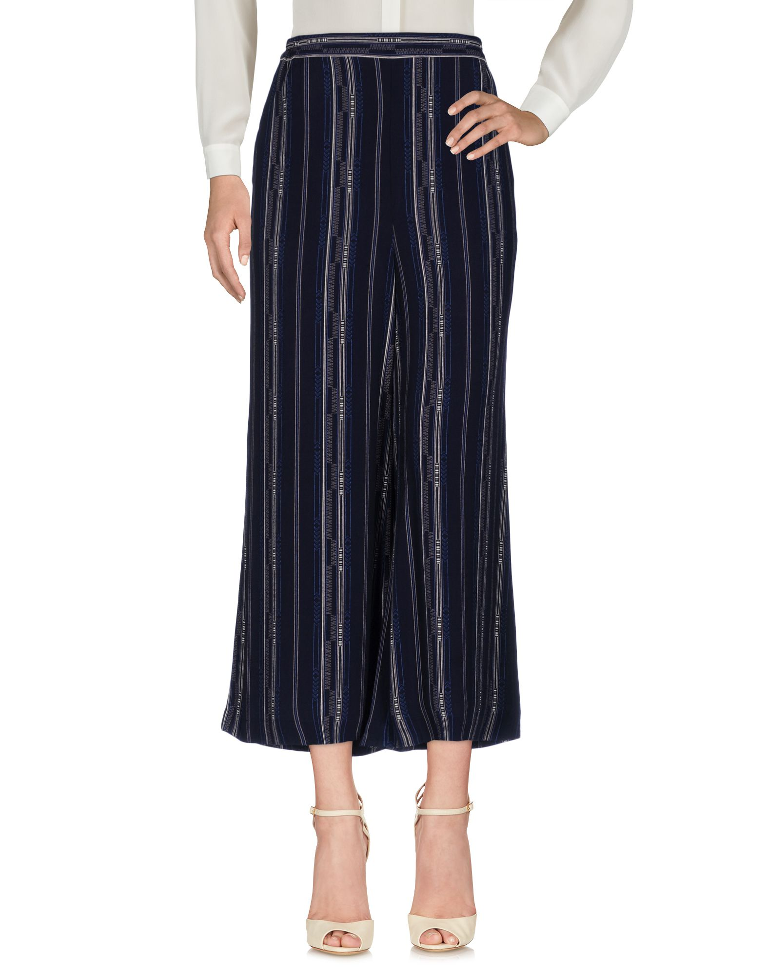 RODEBJER Casual Pants in Dark Blue
