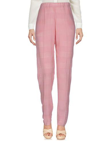 Фото - Повседневные брюки от JIJIL розового цвета