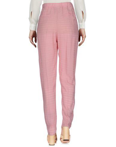 Фото 2 - Повседневные брюки от JIJIL розового цвета