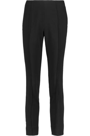 BY MALENE BIRGER Stretch-twill slim-leg pants
