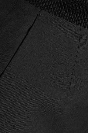 MM6 MAISON MARGIELA Wool-blend twill straight-leg pants