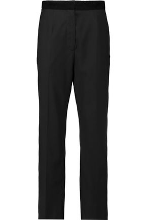 MM6 MAISON MARGIELA Wool-blend twill straight-leg pants