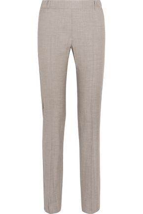MM6 MAISON MARGIELA Wool-blend twill slim-leg pants