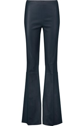 BY MALENE BIRGER Leather bootcut pants