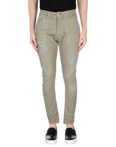 Фото - Повседневные брюки от PAUL MIRANDA цвет зеленый-милитари