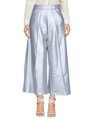Фото - Повседневные брюки от JIJIL серебристого цвета