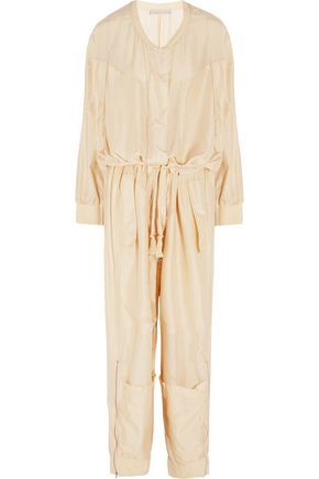 STELLA McCARTNEY Carla oversized silk jumpsuit