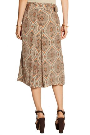 BY MALENE BIRGER Lummy printed silk culottes