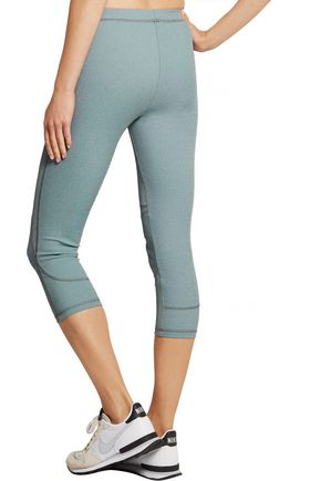 THEORY Ribbed stretch-jersey leggings