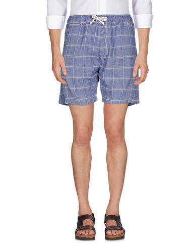 Фото - Повседневные шорты грифельно-синего цвета