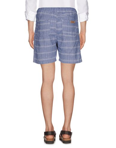 Фото 2 - Повседневные шорты грифельно-синего цвета