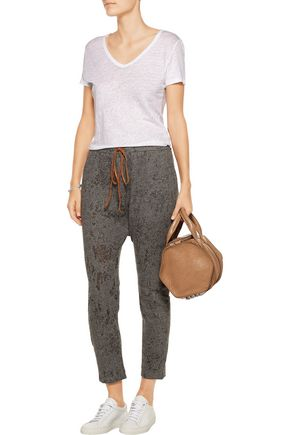 KAIN Vale cotton-blend stretch-knit tapered pants