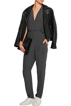 EQUIPMENT FEMME Adalyn polka-dot washed-silk jumpsuit