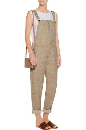 CURRENT/ELLIOTT The Foreman cotton-blend overalls