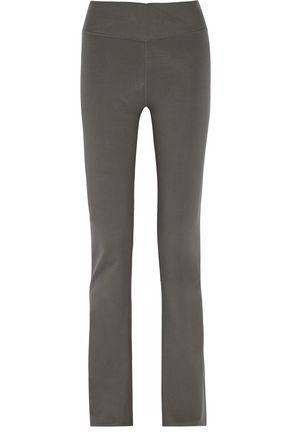YUMMIE by HEATHER THOMSON® Katrina wrap-effect stretch-cotton pants
