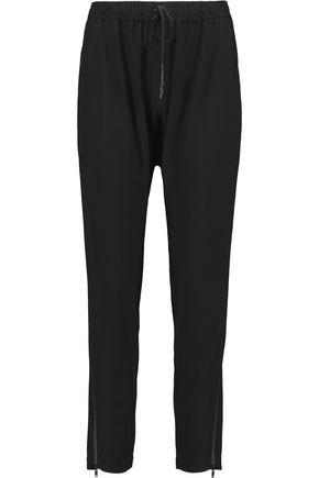 DKNY Crepe tapered pants