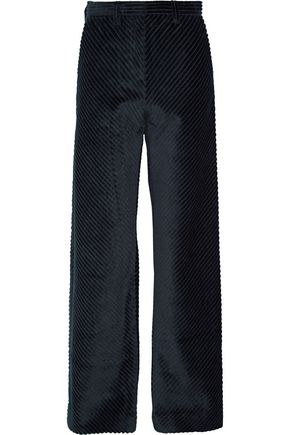 MAISON MARGIELA Cotton-corduroy wide-leg pants