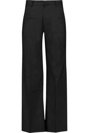 TOTÊME Faille wide-leg pants