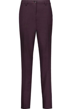 ETRO Stretch-wool twill straight-leg pants
