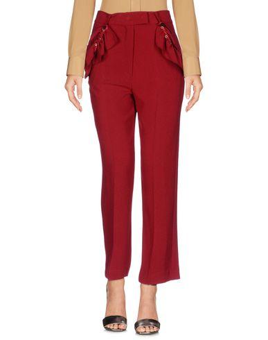 Купить Повседневные брюки от SHIRTAPORTER красно-коричневого цвета
