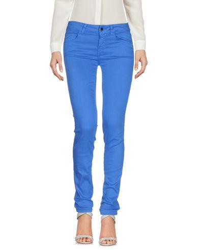 Купить Повседневные брюки от KAOS JEANS ярко-синего цвета