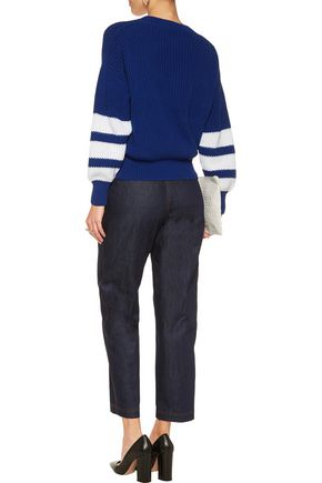 SEE BY CHLOÉ Cropped denim tapered pants