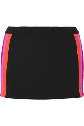 NO KA 'OI Amae paneled stretch-jersey shorts
