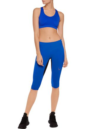 LUCAS HUGH Core Performance cropped stretch-jersey leggings