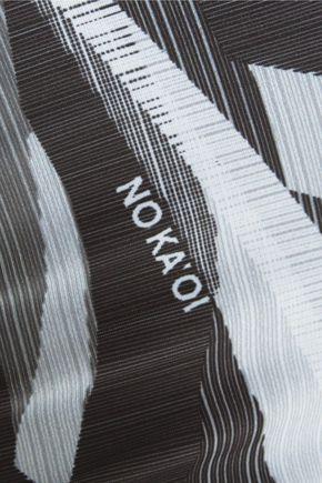NO KA 'OI Kaua printed stretch-jersey leggings