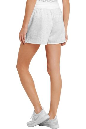 NIKE NikeCourt mesh and cotton-jersey tennis skirt