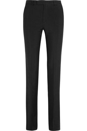 MAISON MARGIELA Wool and mohair-blend slim-leg pants