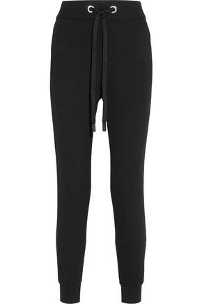 NO KA 'OI Kana waffle-knit stretch-jersey track pants