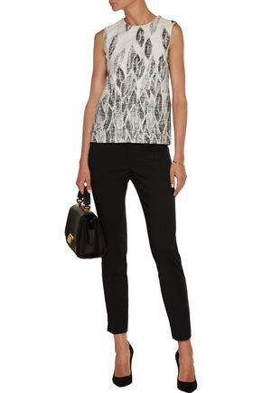 RAOUL Stretch cotton-blend skinny pants