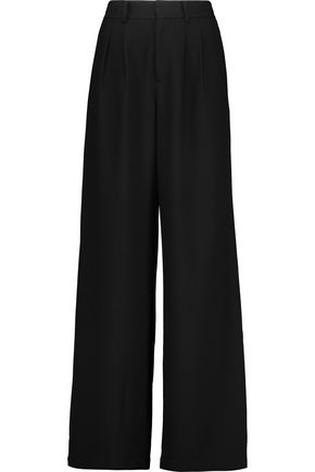 RAOUL Stretch-crepe wide-leg pants