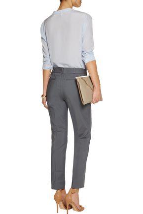 RAOUL Stretch cotton-blend slim-leg pants