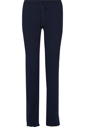 MARQUES ' ALMEIDA Ribbed merino wool straight-leg pants
