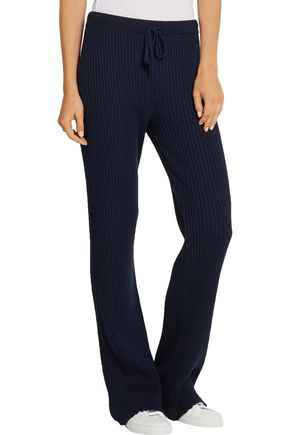 MARQUES ALMEIDA Ribbed merino wool straight-leg pants